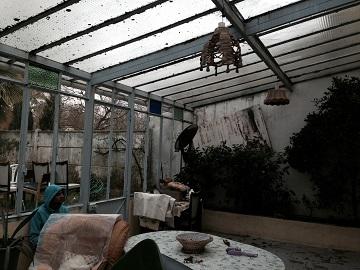 avant reparation veranda paris