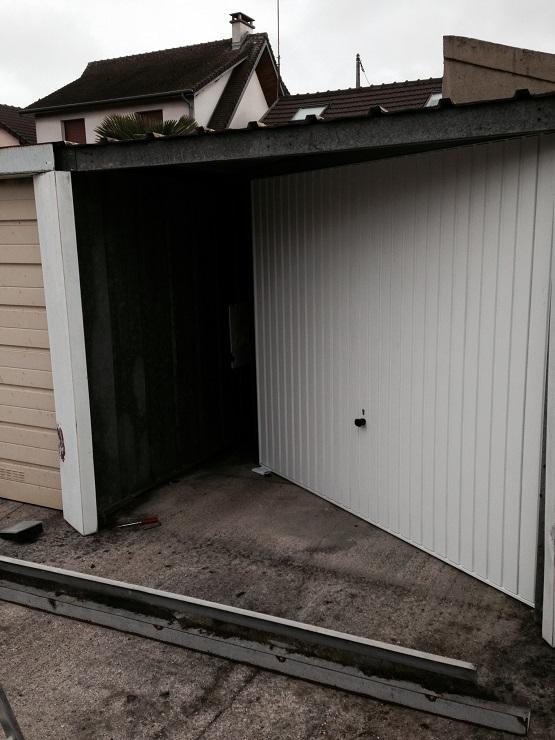 remplacement porte de garage paris